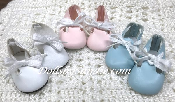 Doll Shoes - Sweet Girls Tie Shoes - Moniques