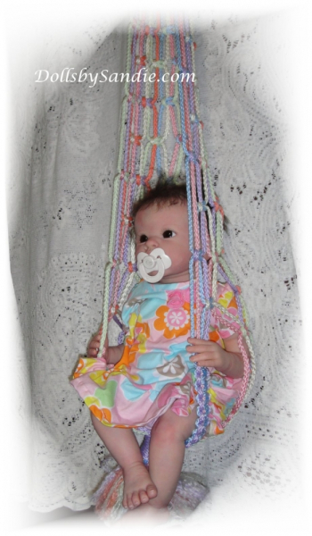 Sweet Little Hanging Swing For Your Reborn Baby