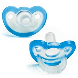 Pacifier - JollyPop 0-3 Blue Baby Pacifier for your Reborn