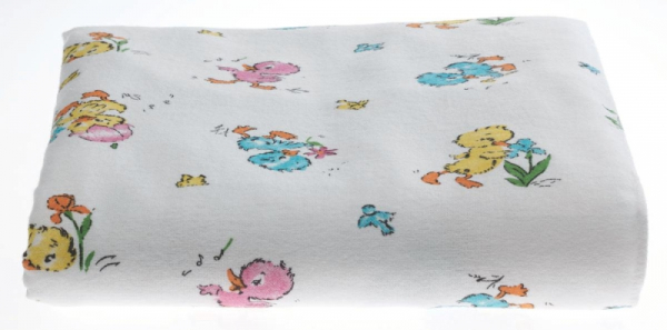 Quantity of 10 - Authentic Hospital Baby Blankets - Baby Ducks