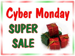A Cyber Monday Sale - Nov 27th - Don't Miss this!!