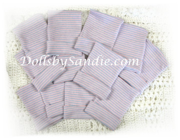 Quantity of 10 - Authentic Infant Hospital Hats