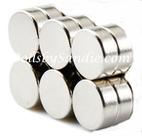 Larger Quantities - Extra Strong Magnets - 9mm X 3mm