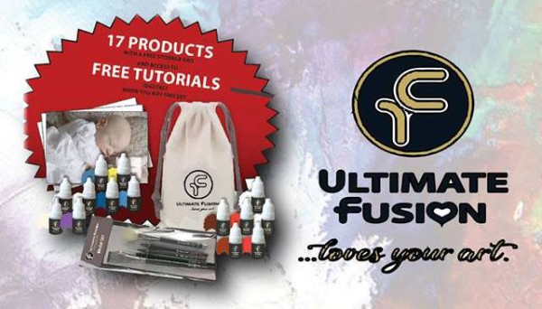 Ultimate Fusion Air Dry Paints