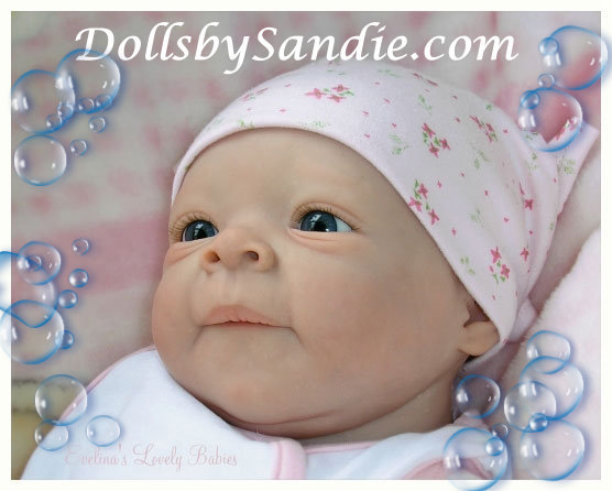 Estelle - Reborn Doll Kit - by Evelina Wosnjuk