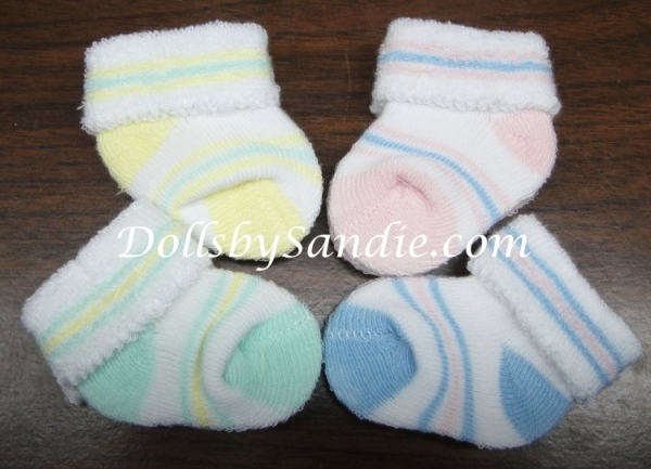 Baby Booties - Fuzzy Booties for your Reborn Babies