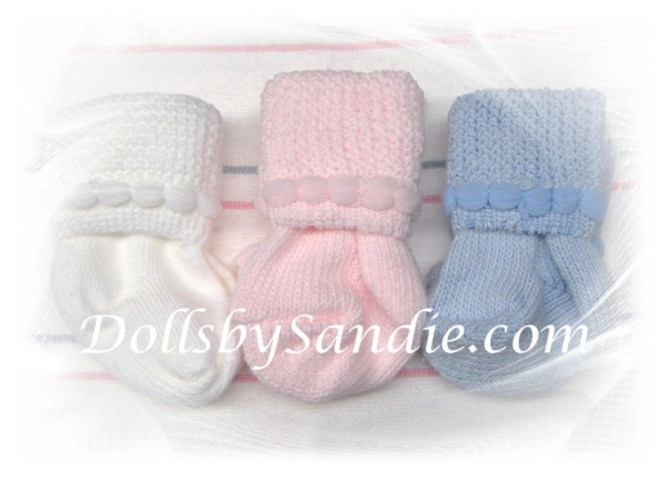 Hospital Preemie Booties