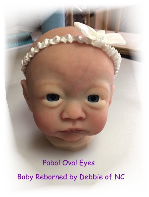 Pabol 24 MM pabol Glass Eyes Brown Oval Flatback for reborns