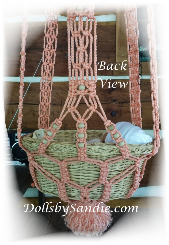 Beautiful Hanging Baby Cradle For Your Reborn Baby
