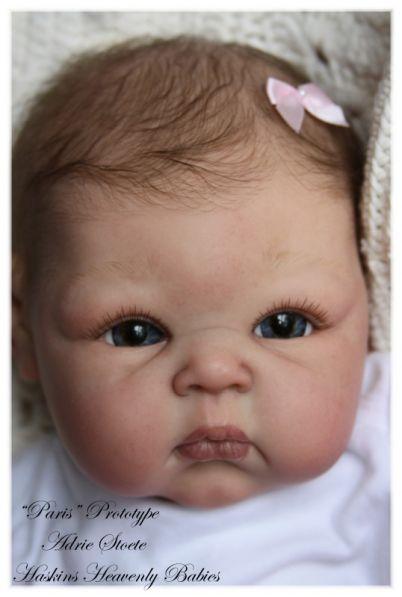 Baby Paris Reborn Kit By Adrie Stoete