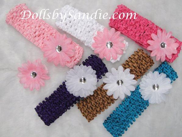 Sweet Baby Crocheted Headbands d2564dea910