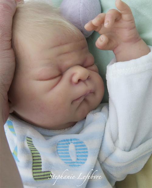 Baby Jesse Head - by Adrie Stoete