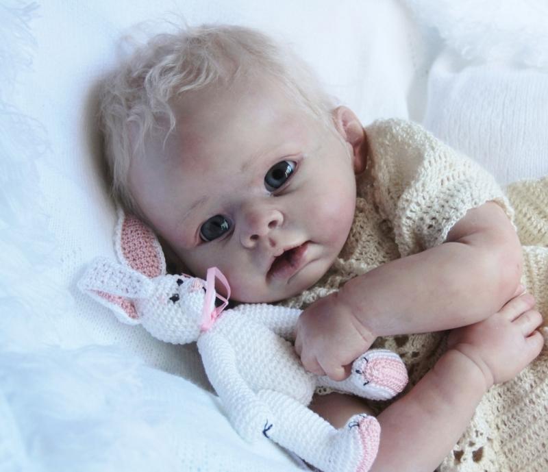 Baby Amelie Reborn Kit By Linda Murray Cradle Kits