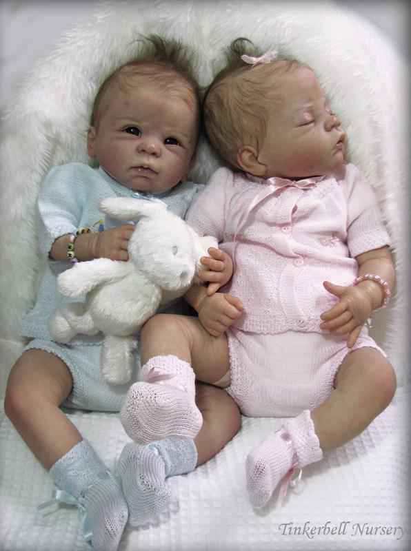 Baby Dani Reborn Kit By Linda Murray Cradle Kits