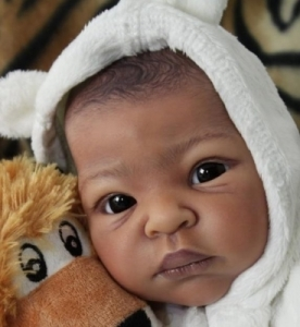 Thandie - Reborn Doll Kit - by Adrie Stoete