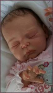 Rosa - Reborn Doll Kit - by Adrie Stoete