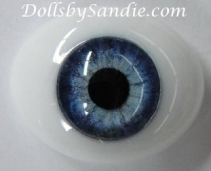 Blue - Pabol Oval Glass - Optical Reborn Doll Eyes