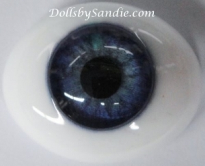 Dark Blue - Pabol Oval Glass - Optical Reborn Doll Eyes