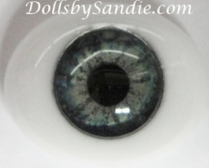 Green - Pabol Oval Glass - Optical Reborn Doll Eyes