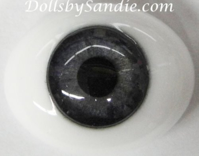 Ash Gray - Pabol Oval Glass - Optical Reborn Doll Eyes