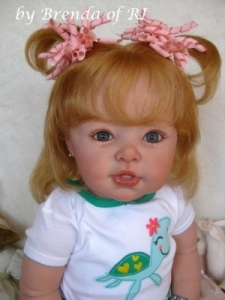"Suzanne - 29 1/2"" Toddler Reborn Doll Kit - by Adrie Stoete"