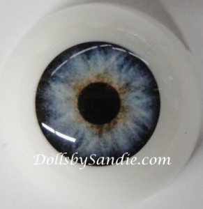 Crystal Blue - Pabol Optical Acrylic Reborn Doll Eyes