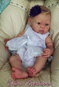 Carmen - Reborn Doll Kit - by Adrie Stoete