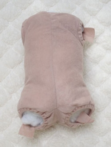 "18"" - Doe Suede Doll Body - Unjointed for Full Limbs - by Adrie"
