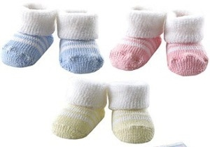Baby Booties - Soft Knit Booties for your Reborn Babies