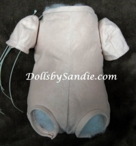 "19""- 21"" Doe Suede Doll Body - Jointed for 3/4 Arms & Full Front Legs"