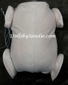 "26""-28"" Doe Suede Doll Body - Jointed for Full Limbs"
