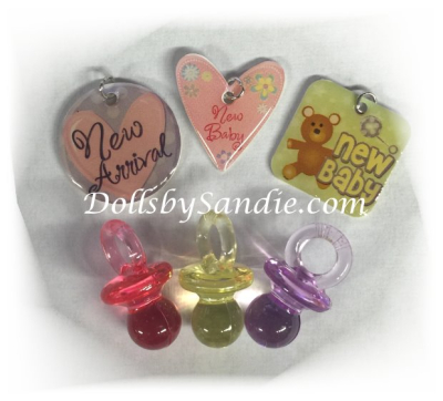 Tiny Little Baby Charms - Package of 6