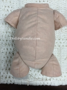 "19""- 20"" Doe Suede Doll Body - Jointed for 3/4 Limbs"