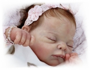 LE Martha Grace - Reborn Doll Kit - by Adrie Stoete