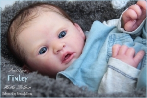 A Special This Week Only - LE Finley - Reborn Doll Kit - by Heike Kolpin