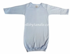 Hospital Gown - Newborn Pullover - Blue