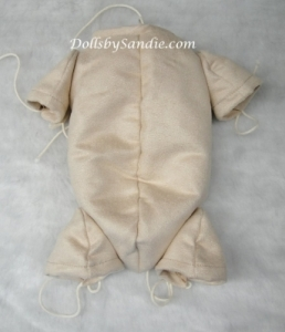 "18""-19"" UltraSuede Doll Body - Jointed for 3/4 Limbs"
