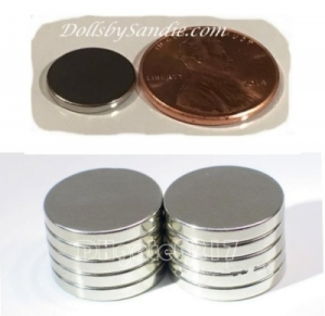 Larger Quantities - Extra Strong Thin Magnets - 12mm X 1.5mm