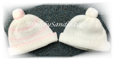 Soft Knit Baby Doll Hat - Micro Preemie