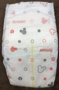 Diaper - Size #1 - Mickey Mouse print