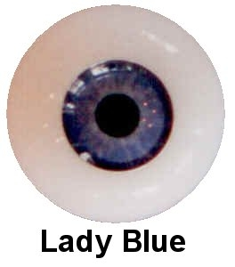 Eyeco Soft Glass - Platinum - Lady Blue
