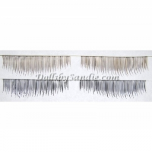Quantity of 10 - Human Hair Lashes
