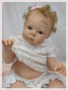 Bo-Elle - Reborn Doll Kit - by Adrie Stoete