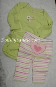 Carter's Girls 2 pc. Set - Pink/Green