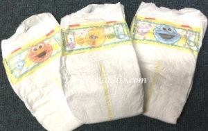 Diaper - Size #1 - Pampers Sesame Street  Baby Diaper