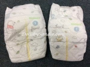 Diaper - Size #1 - Pooh Baby Diaper