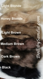 Mohair - Straight Mohair - Sophia's Heritage Collection