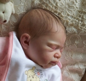 Julie - Reborn Doll Kit - by Adrie Stoete
