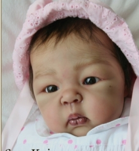 Suu Kyi - Reborn Doll Kit - by Adrie Stoete