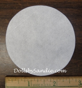 Cotton Fabric Discs - 10 pack - Great for sealing limb openings